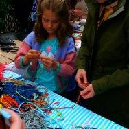 Art Fusion Archipelaglasgo T-shirt jewellery-making workshop