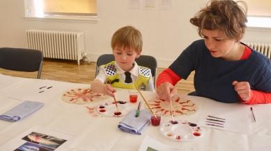 Unicorn Enchilada -Cochineal painting workshop