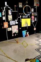 'G U E R A P E ST E R 'Installation 2013 @ The Black Gallery Mexico City